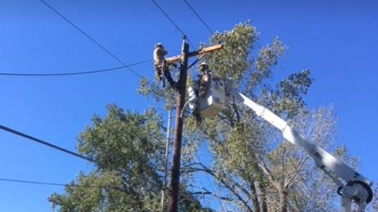 Power Restored To Most Claremore Residents After 'Huge Electric Fire'