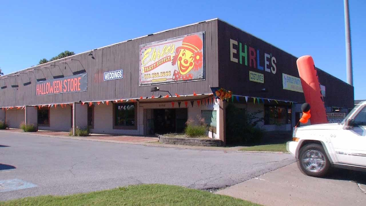 Ehrle's Party Supply Store Tulsa's 'Halloween Headquarters' Since 1955