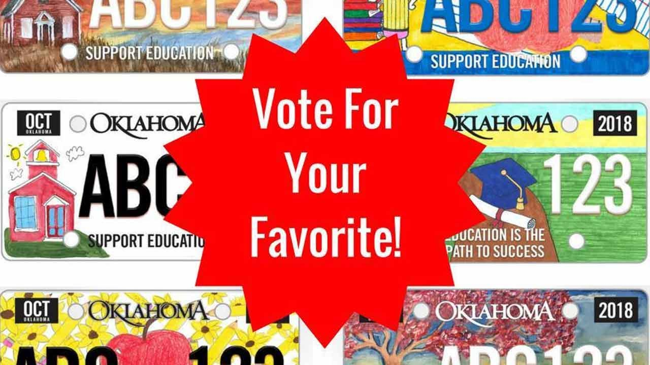 Last Day To Vote For New Education License Plate