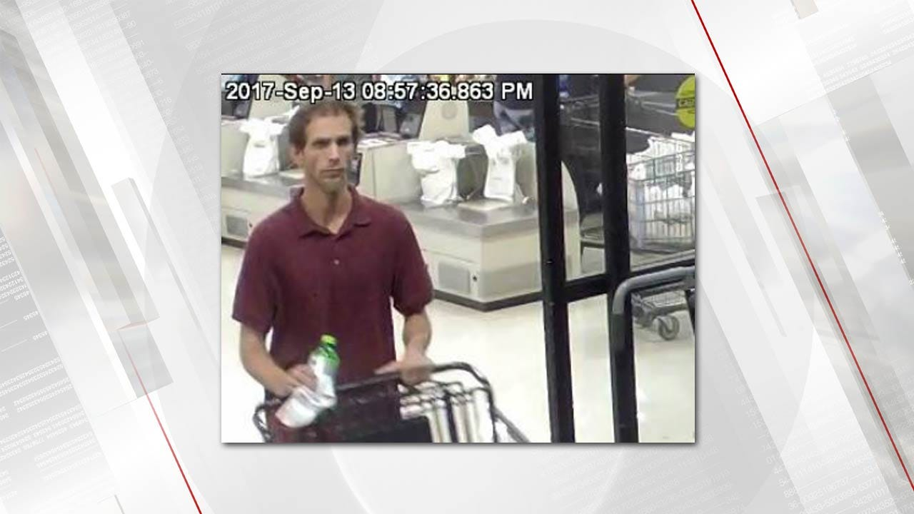 Tulsa Police Look For Man In Connection To Bad Check