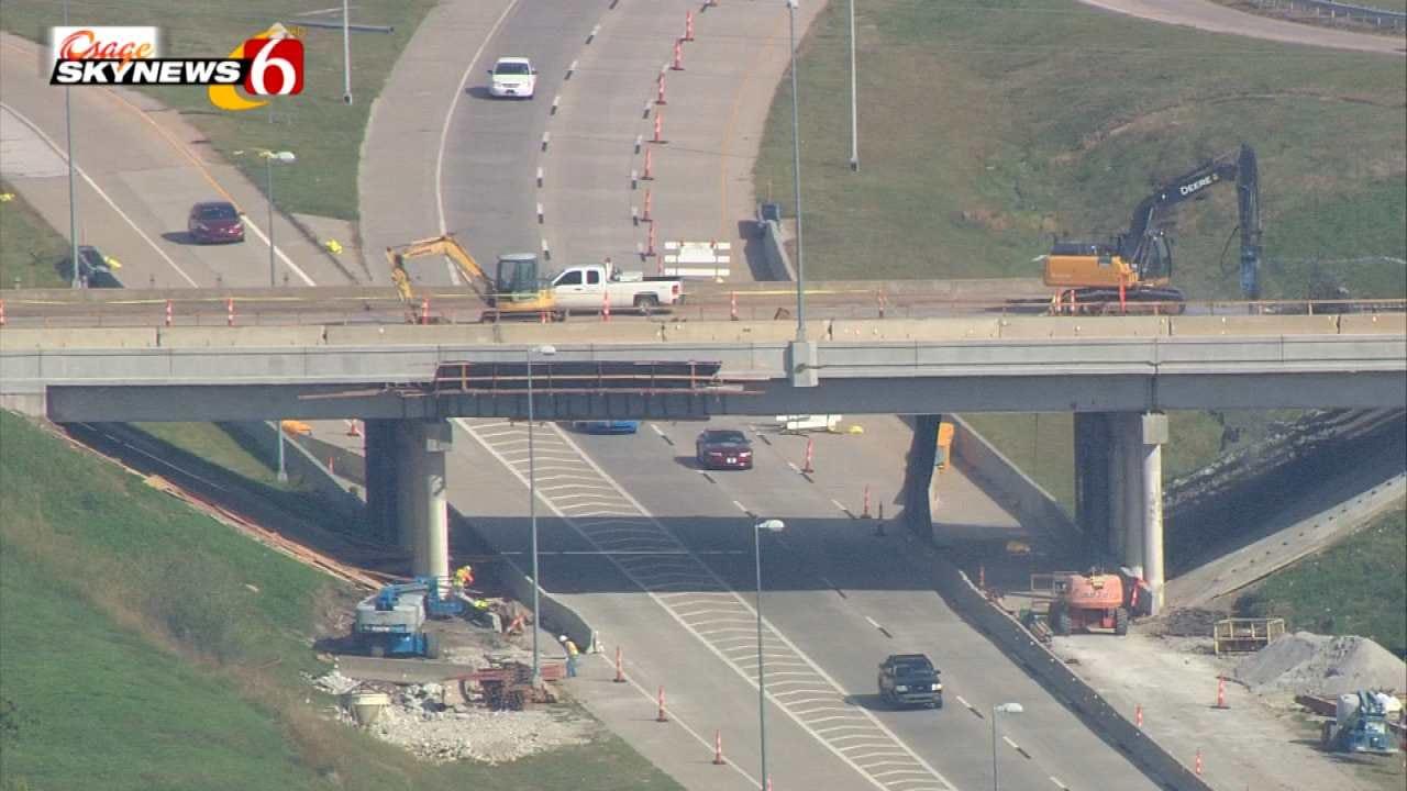 ODOT Closing More Lanes On I-244 For Demolition Work