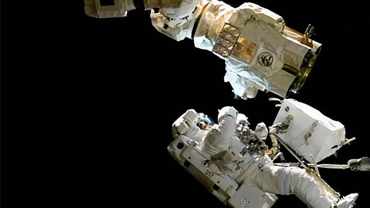 Astronauts Stage Third Spacewalk In 15 Days