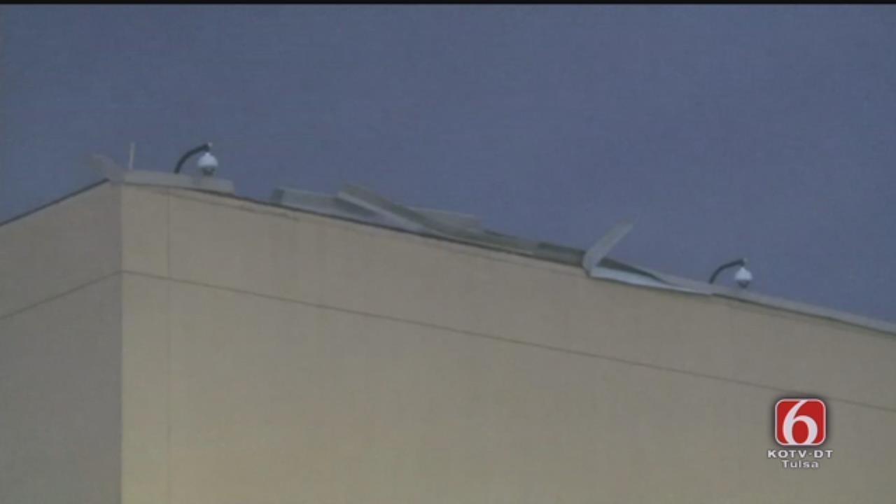 Possible Tornado Hits Riverwind Casino In Norman