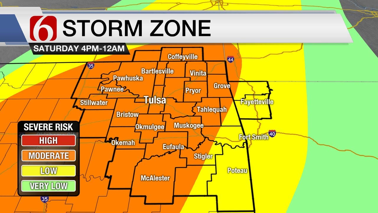 Severe Weather Threat Returns To Green Country
