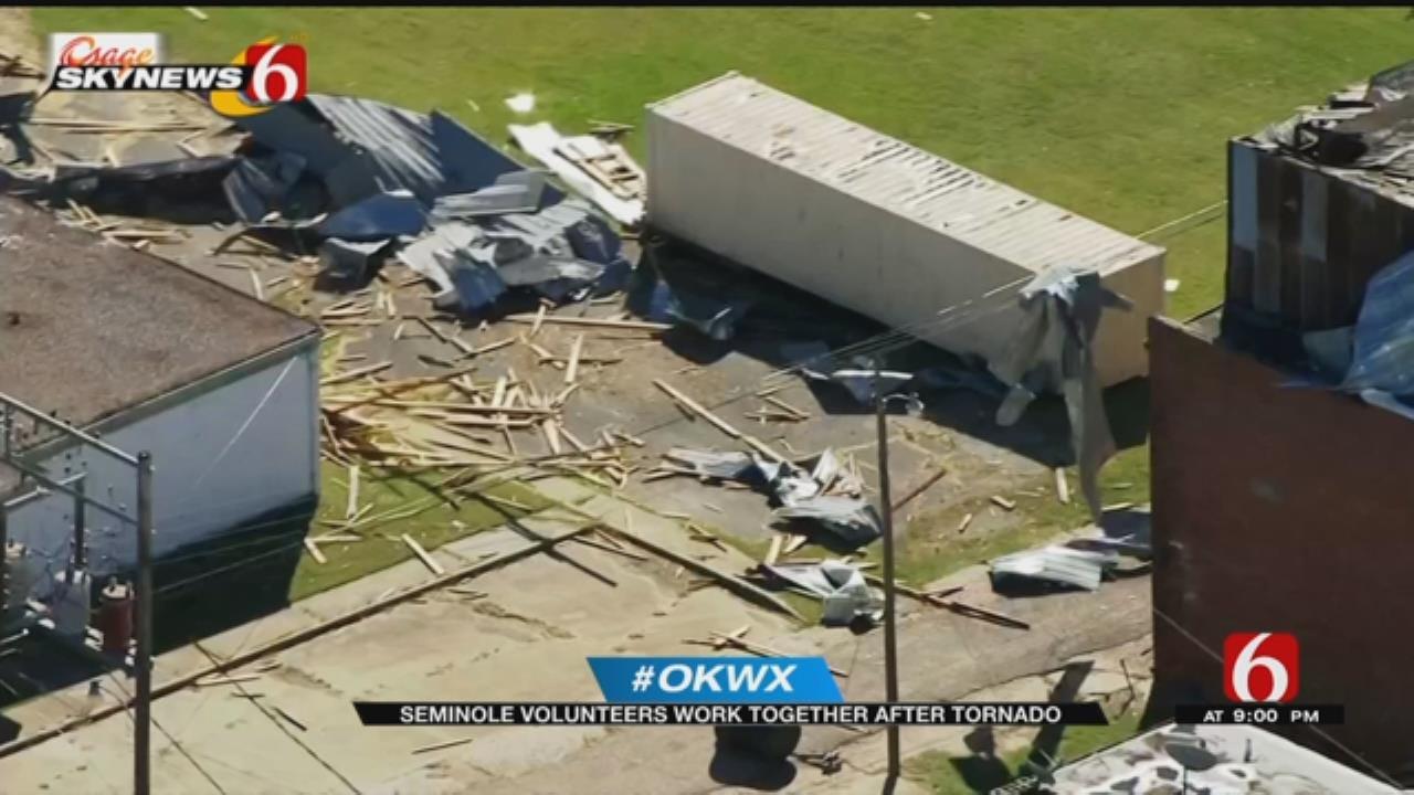 EF-1 Tornado Leaves Damage In Seminole