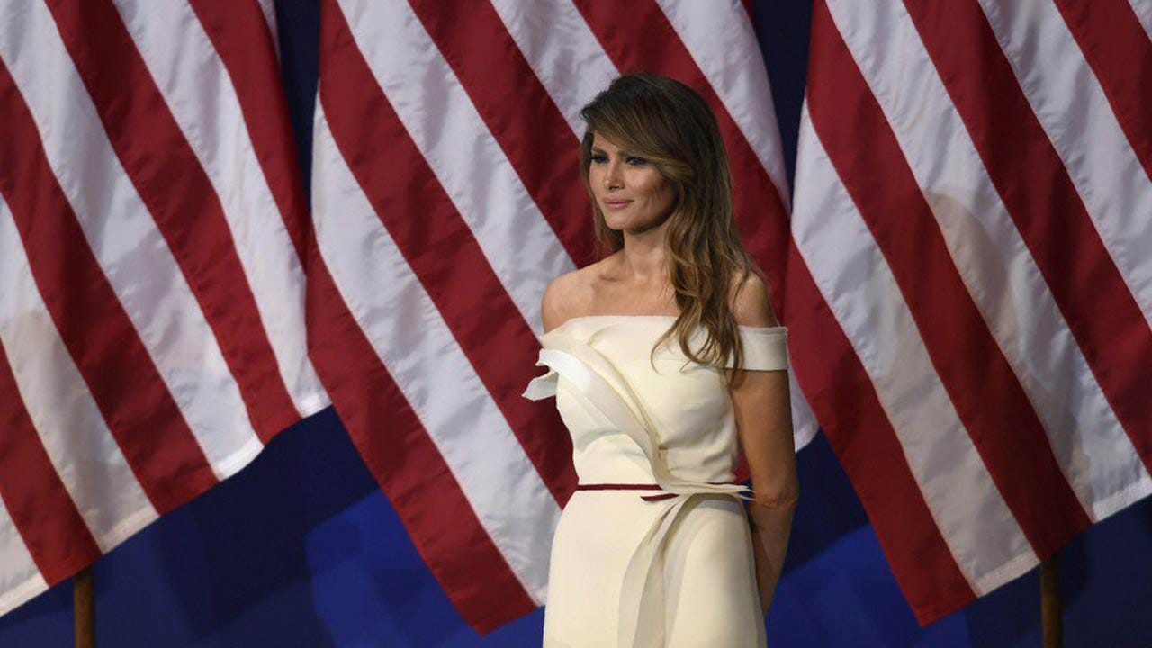 First Lady Melania Trump Donates Inaugural Gown To Smithsonian