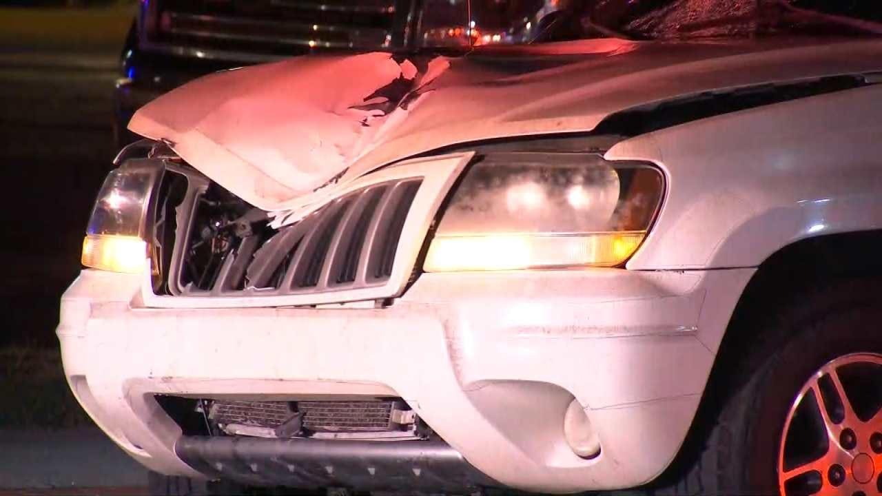 Tulsa Man Hit, Injured By SUV