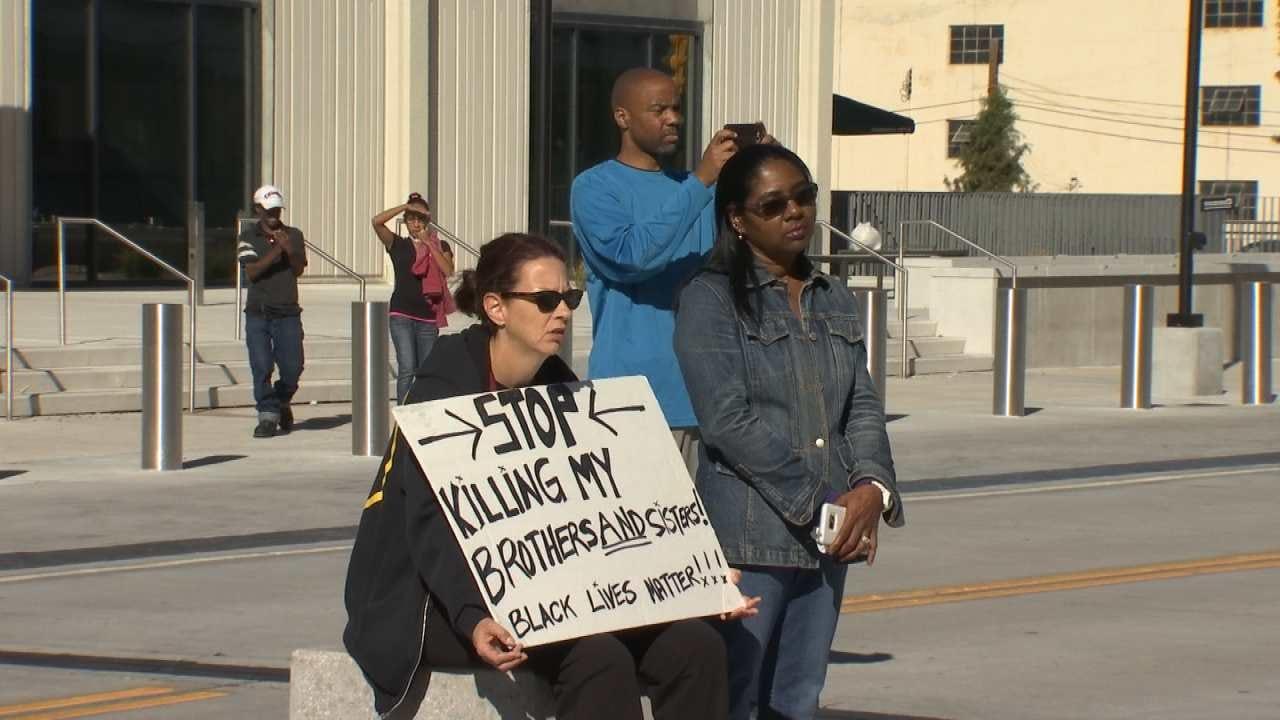 Tulsans Protest Police Brutality