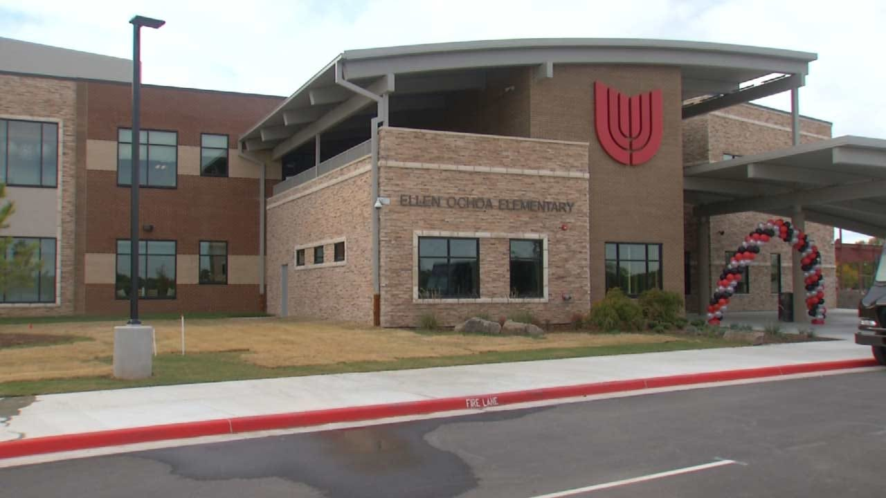 Director Of NASA Space Center Visits OK School Named In Her Honor