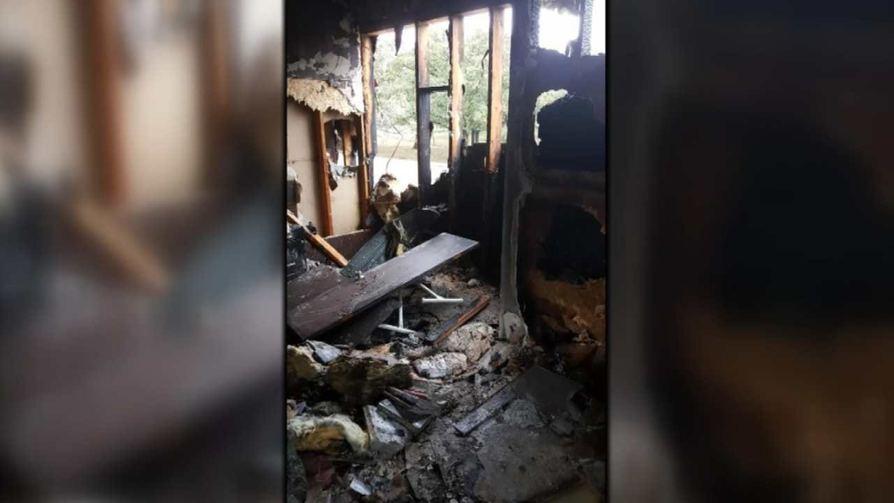 Fire Destroys McAlester Home Hit By Lightning
