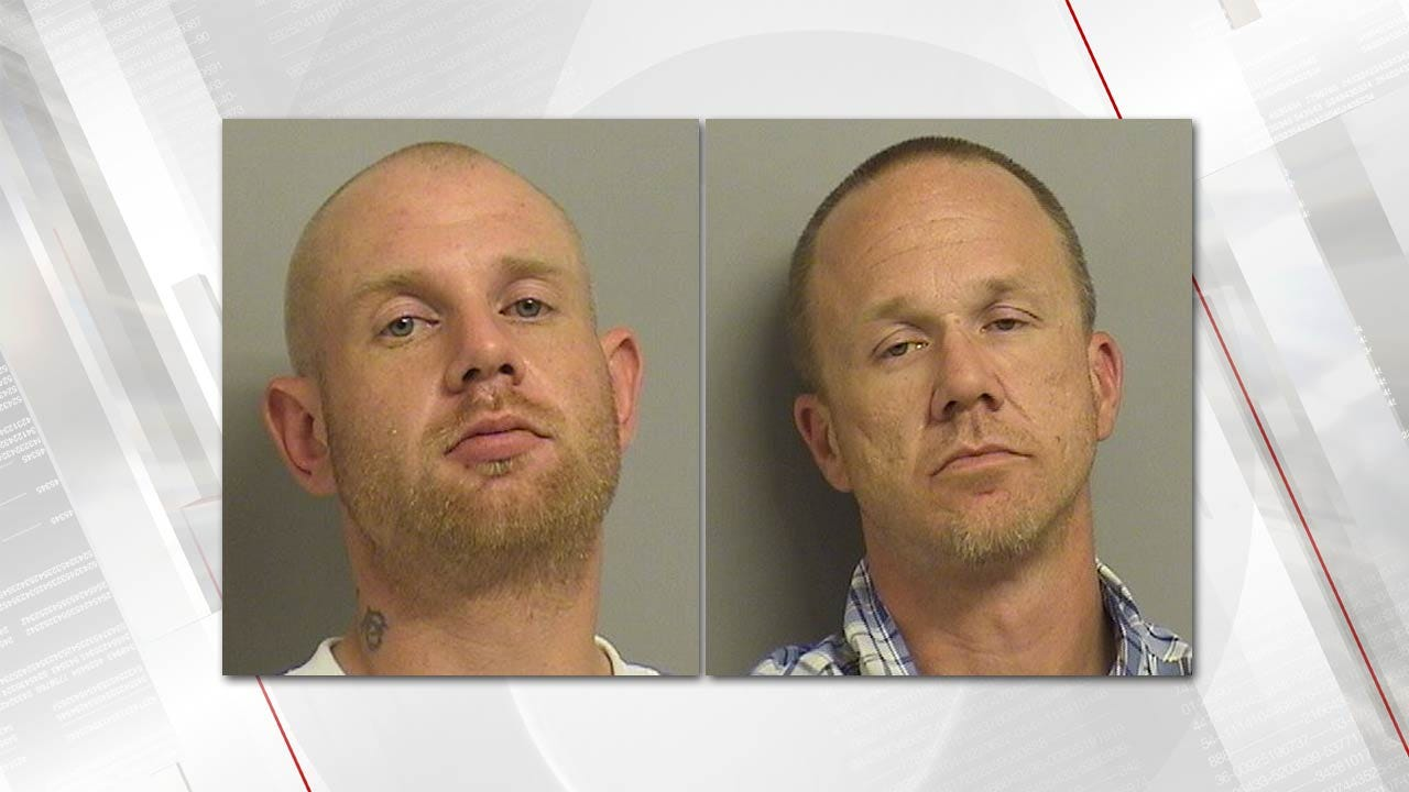 Tulsa Police Chase Ends With Crash, Two Arrests