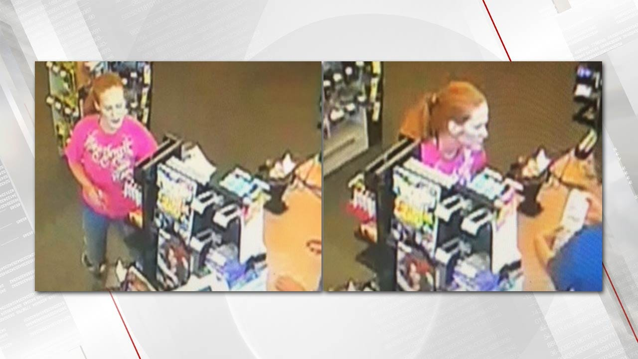 Tulsa Police Seek Woman In Credit Card Fraud