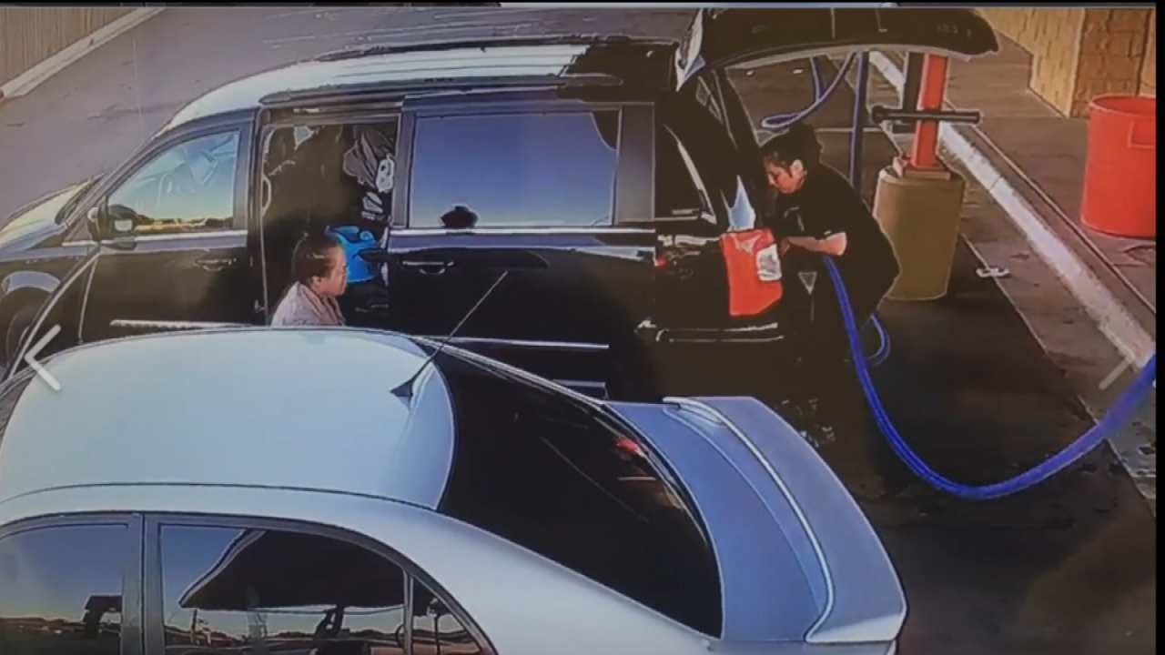 Woman's Van Burglarized At Tulsa Carwash