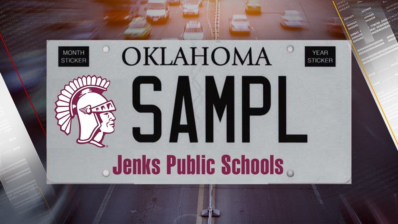 School District License Plates Available Under New Oklahoma Law