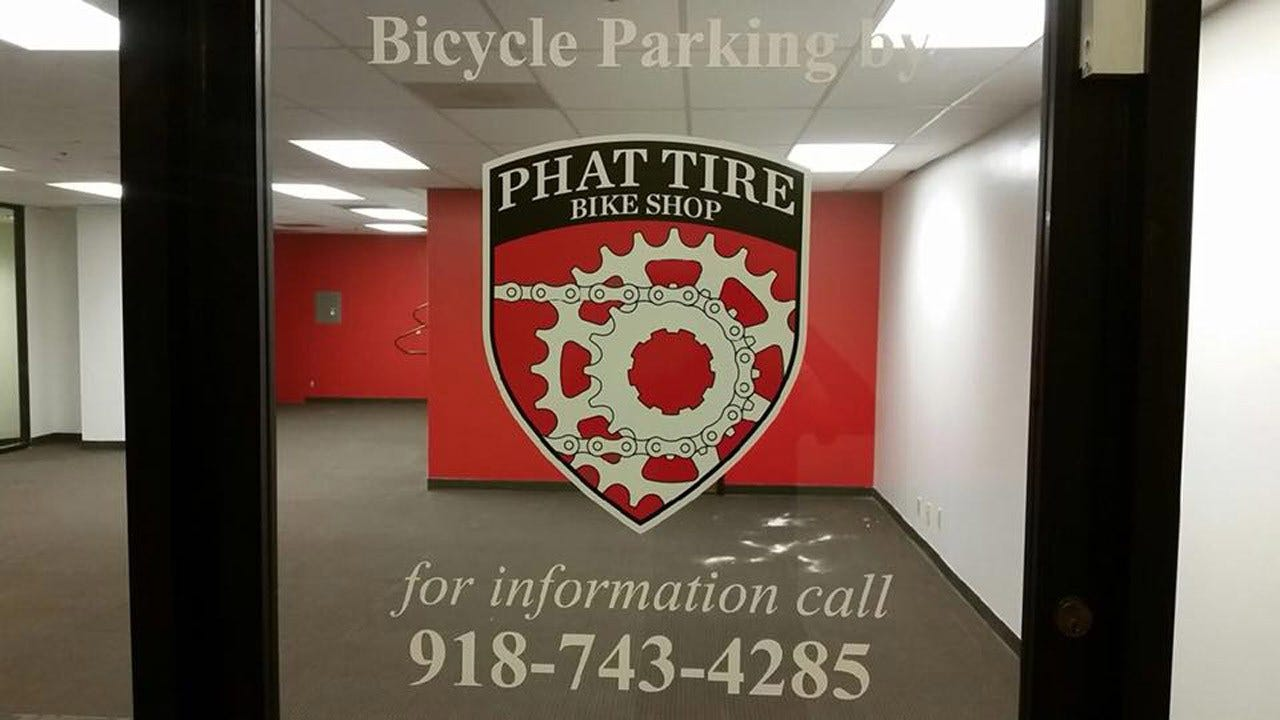 Downtown Tulsa Bicycle Parking Now Available For Commuters