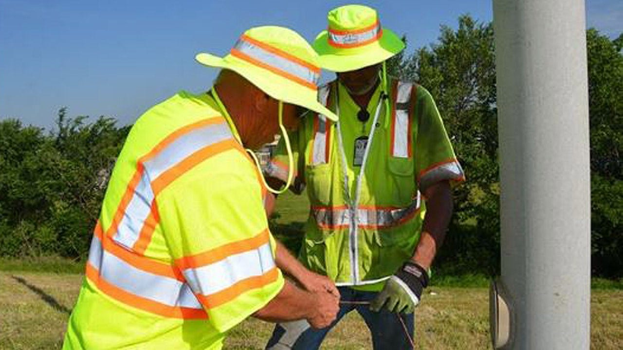 Many Of Tulsa's Highway Lights Back On After Copper Theft