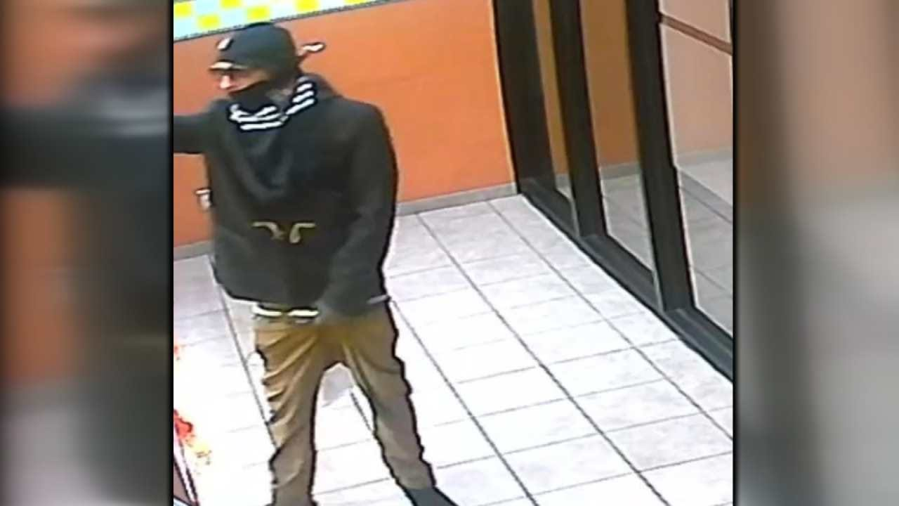 Tulsa Police Trying To Identify Two Robbery Suspects