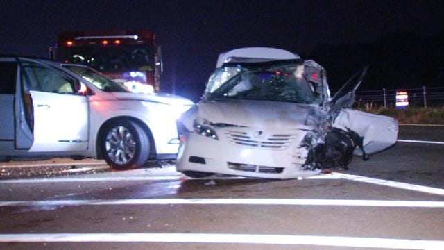 Woman Pleads Guilty To Manslaughter In Fatal Wrong-Way Crash In Rogers County