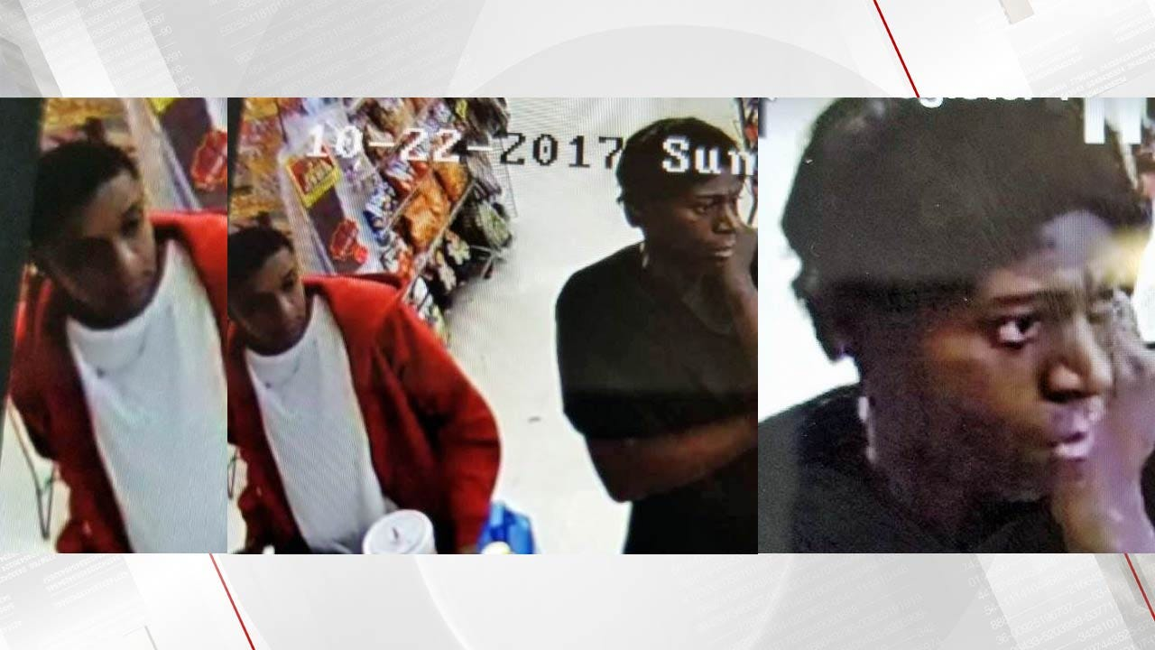 Persons Of Interest Sought In Tulsa Credit Card Theft