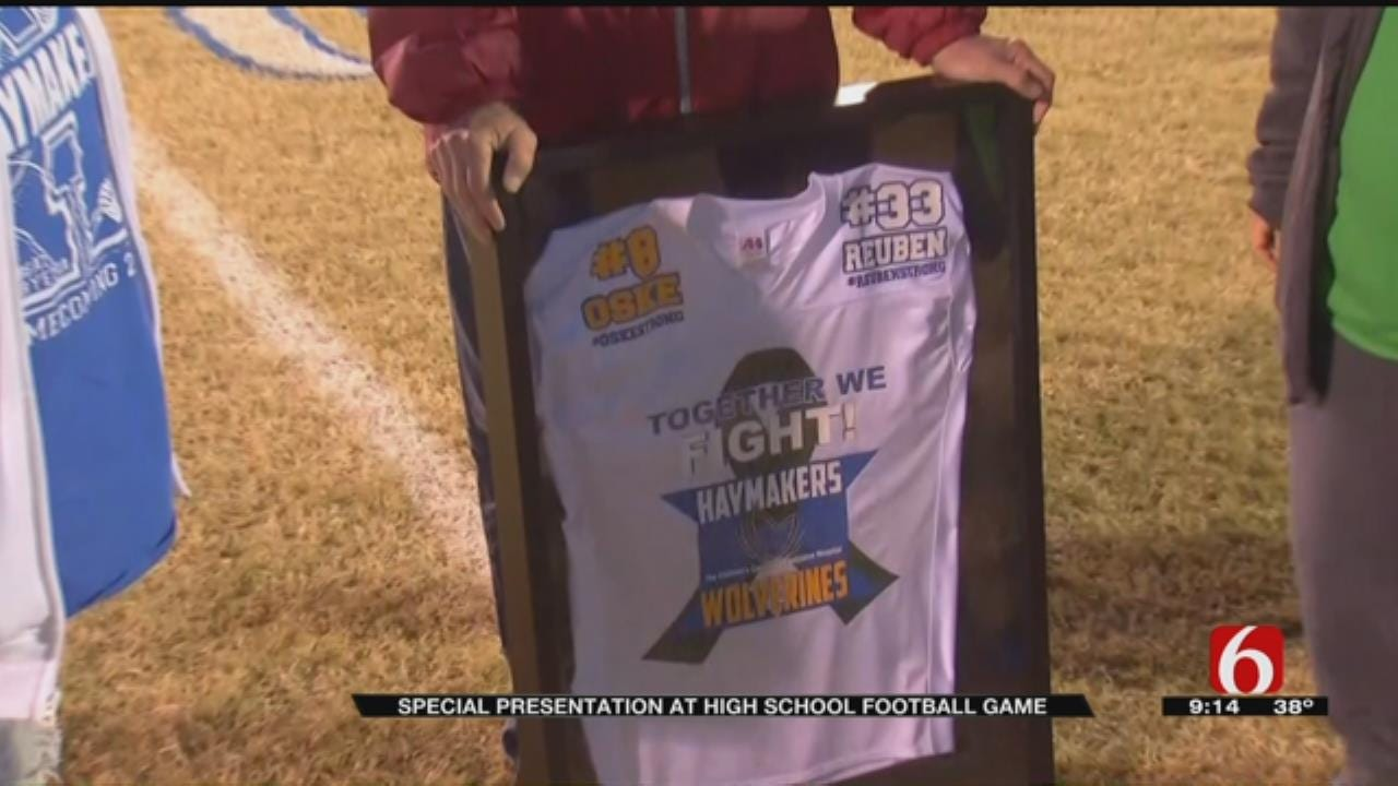 Oklahoma Football Rivals Find Unity In Recovery