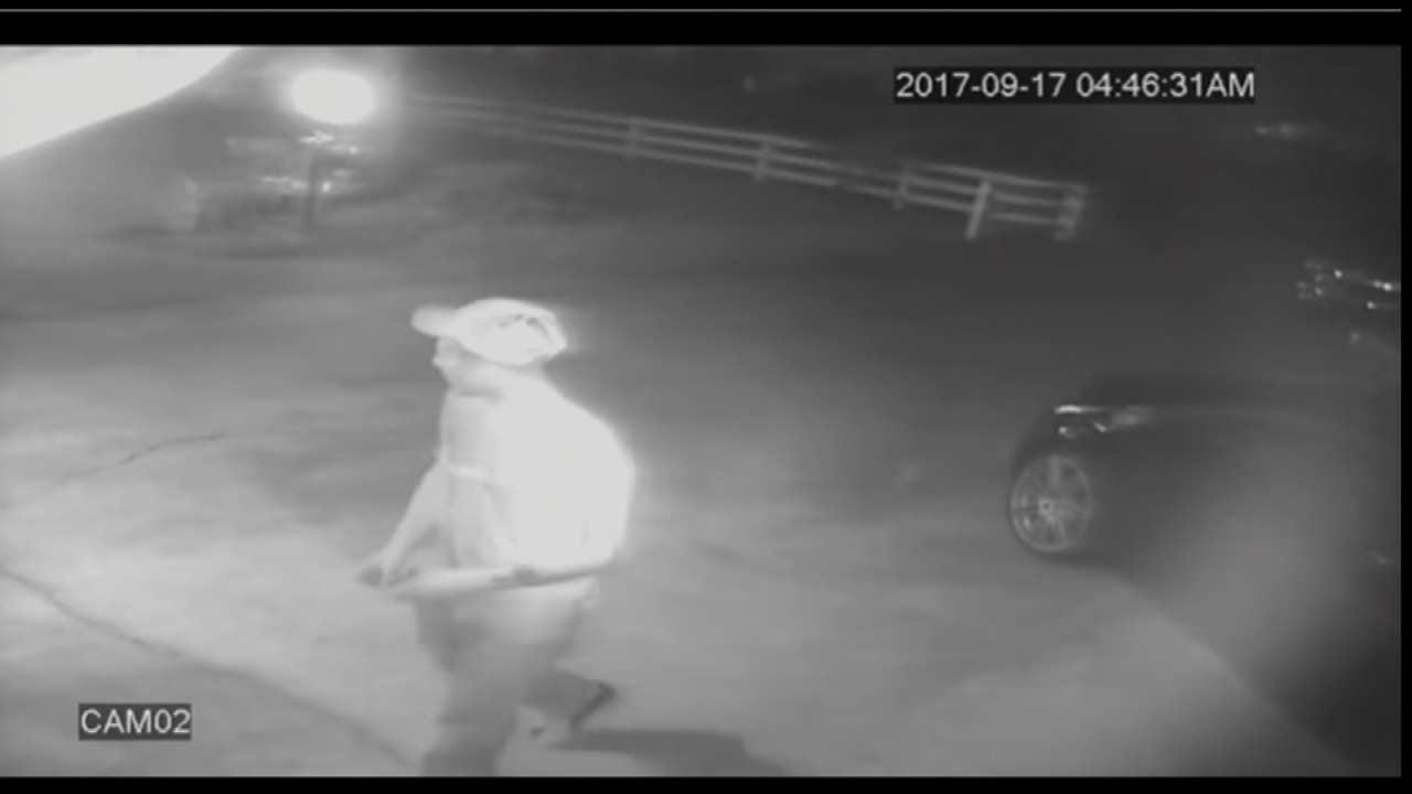 Tulsa Family's Home Surveillance Leads To Suspicions About Burglar