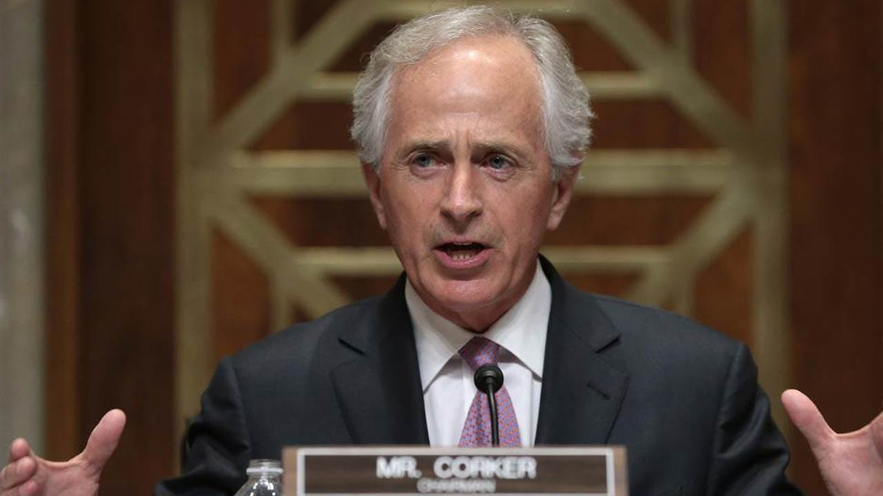 """Sen. Bob Corker: Tillerson Getting """"Kneecapped"""" By Trump """"Hurts Our Nation"""""""
