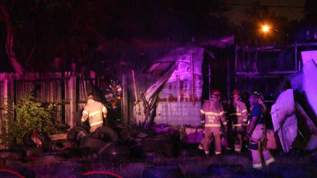 Fire Damages Tulsa Home, Business