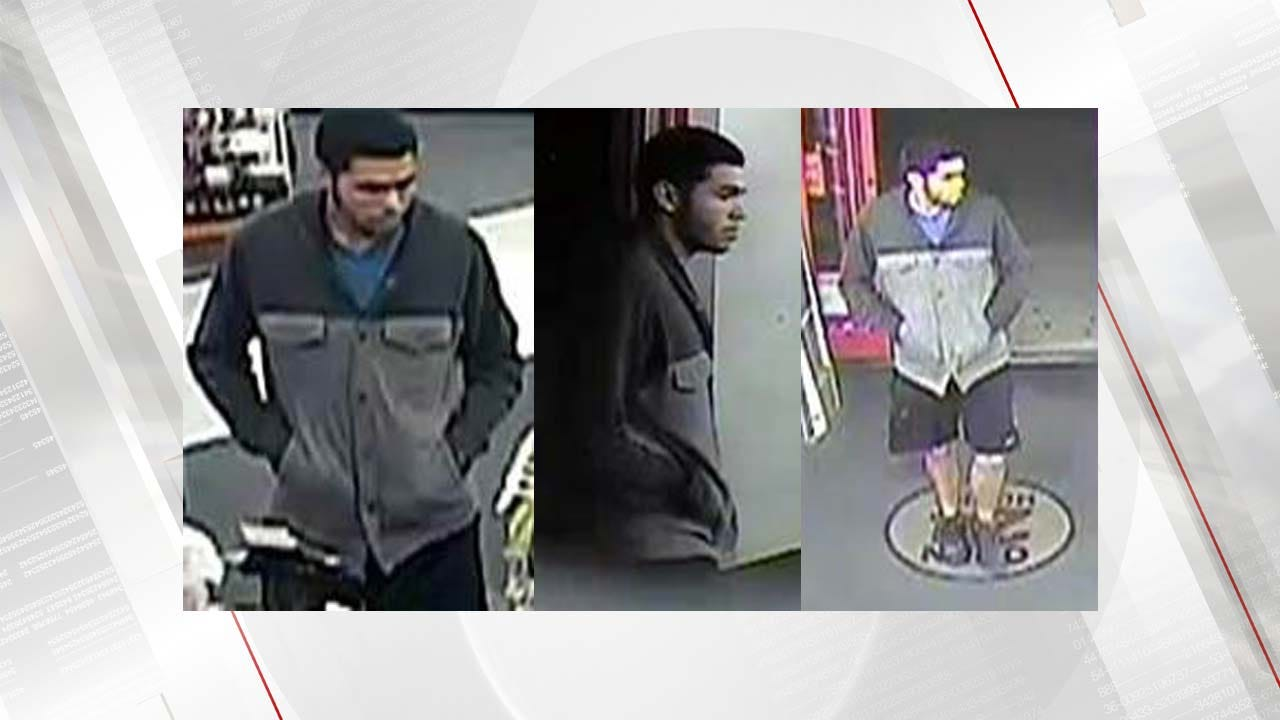 Police Release Images Of Person Of Interest In Tulsa Burglary