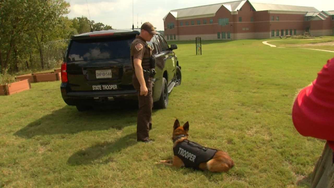 TCC Students Raise Funds For OHP K-9 Trooper Vest