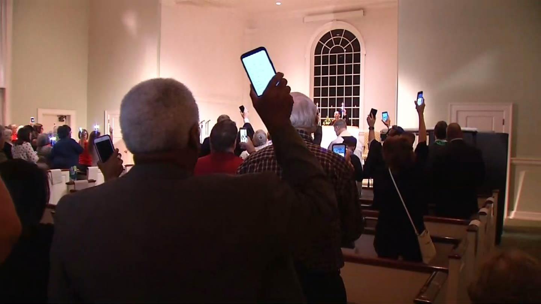 Tulsans Hold Vigil For Victims Of Las Vegas Shooting