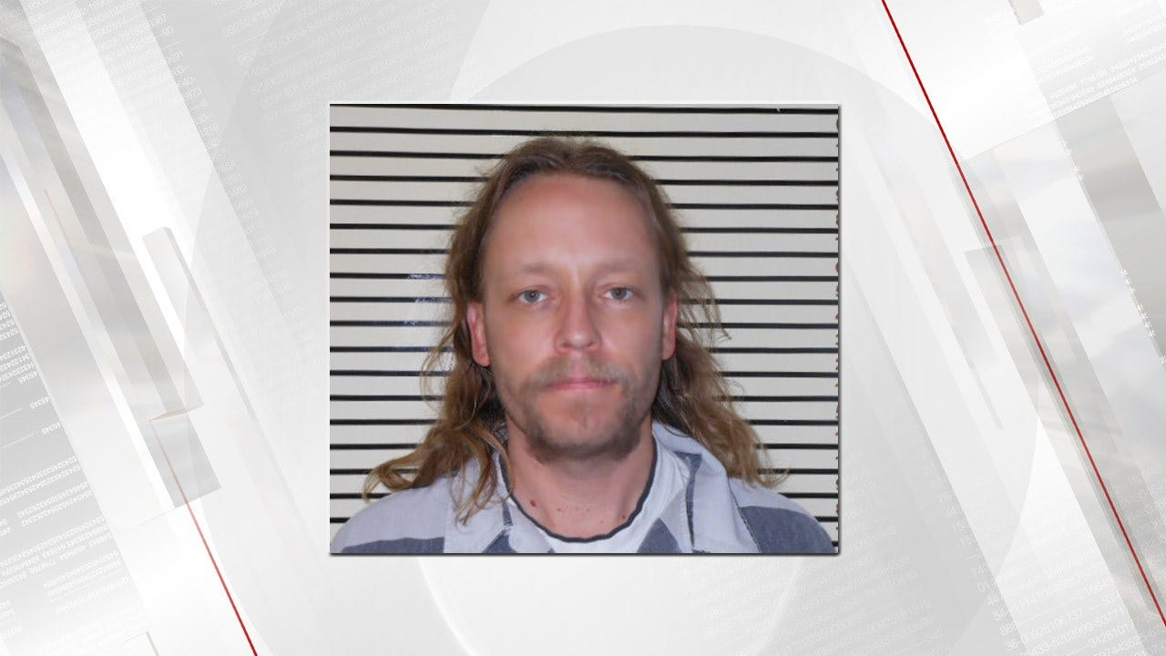 Man Arrested After Brief Foot Chase In Wagoner County