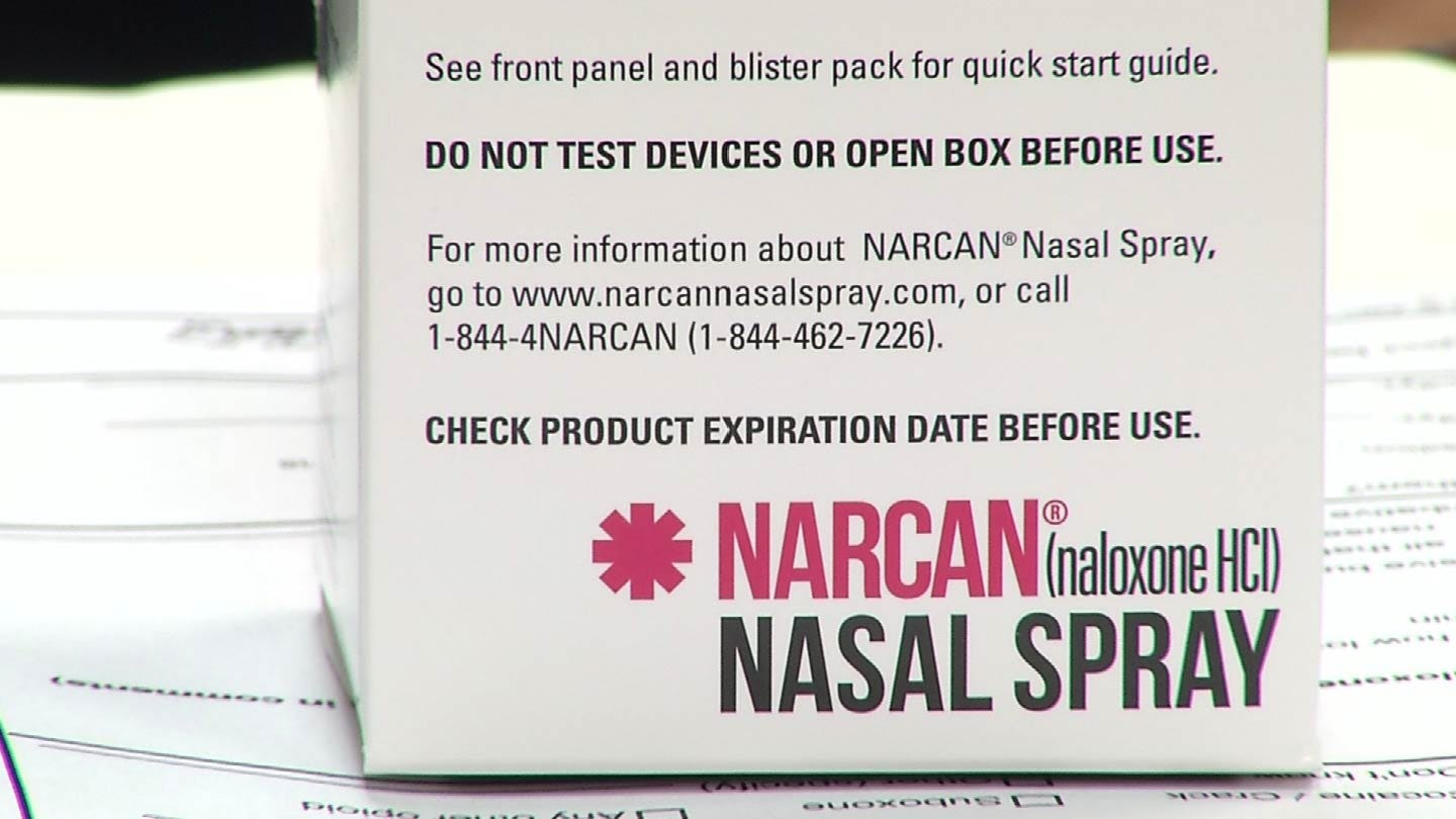 Tulsa Police Get National Attention For Narcan Use