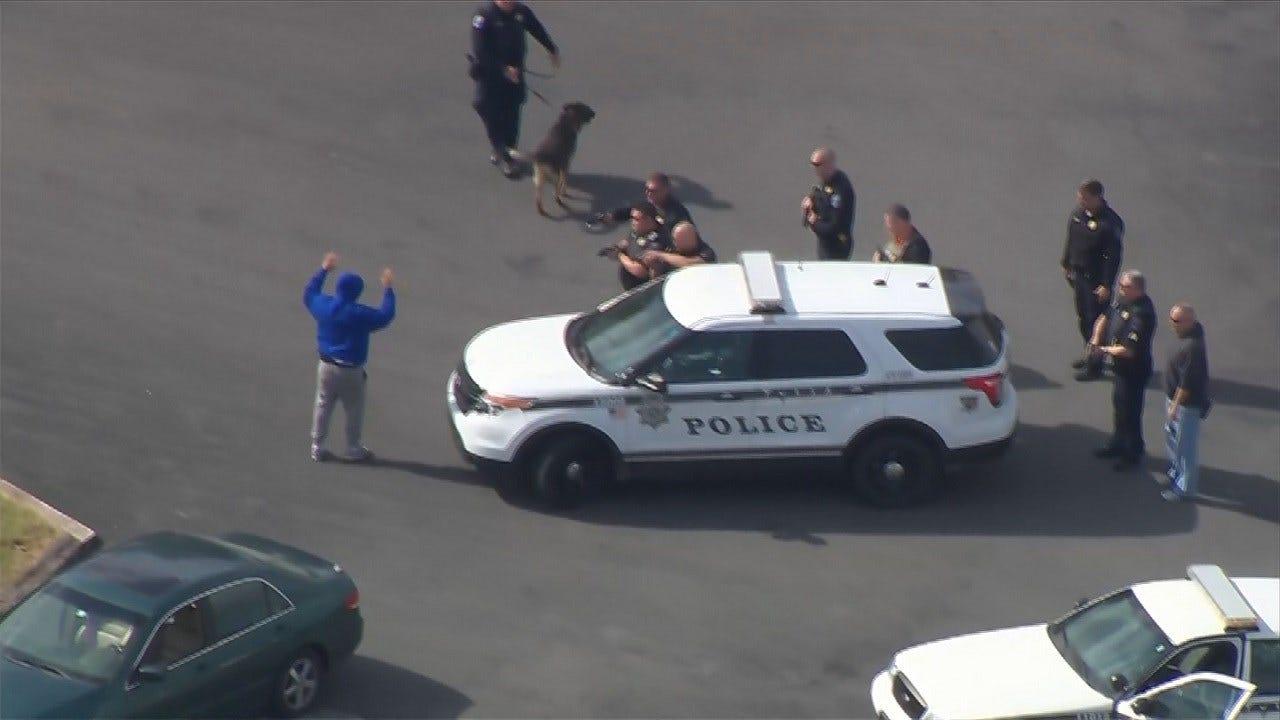 Suspect Sought In Violent Tulsa Robbery