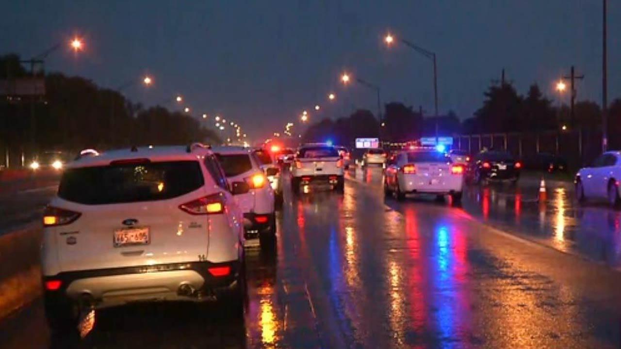 Man Found Dead In SUV On Tulsa Highway