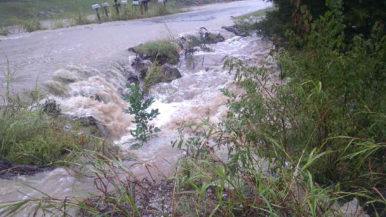 Pawnee County Hit Hard With Rain, Flooding