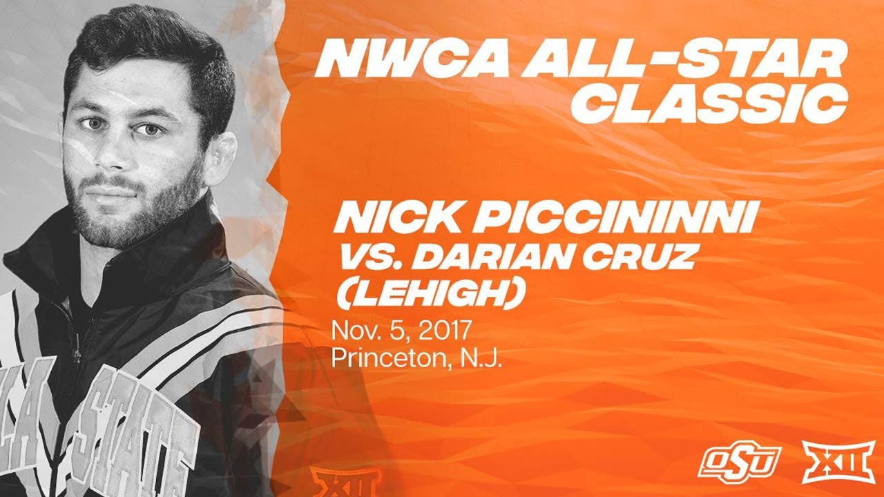 Piccininni To Wrestle NCAA Champ At NWCA All-Star Classic