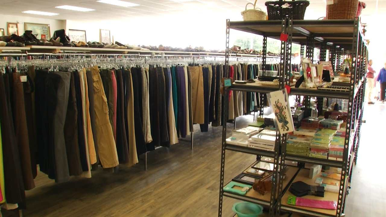 New Tulsa Thrift Shop Sells Goods For A Good Cause