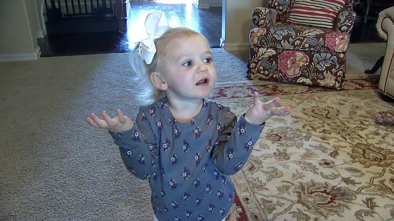 Broken Arrow Toddler Featured In Viral Video Chats With News On 6