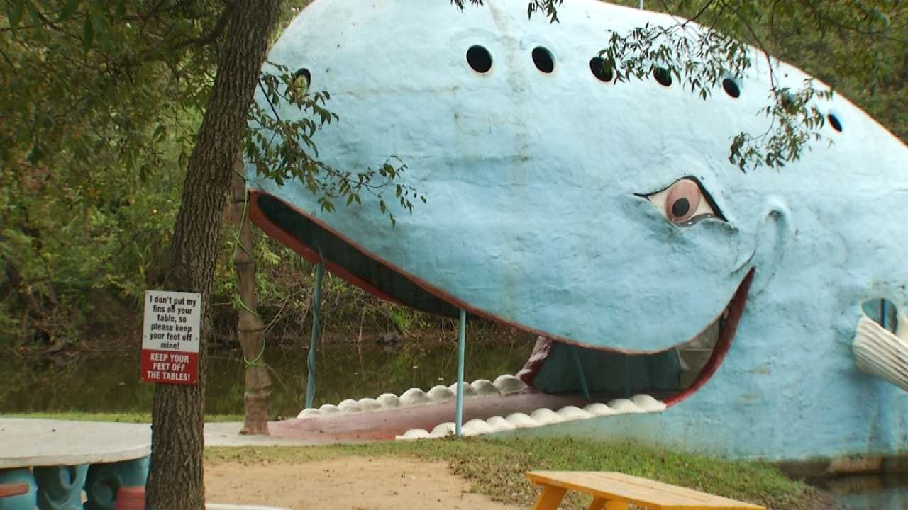 Friday Is A Work Day At Catoosa's Blue Whale Landmark