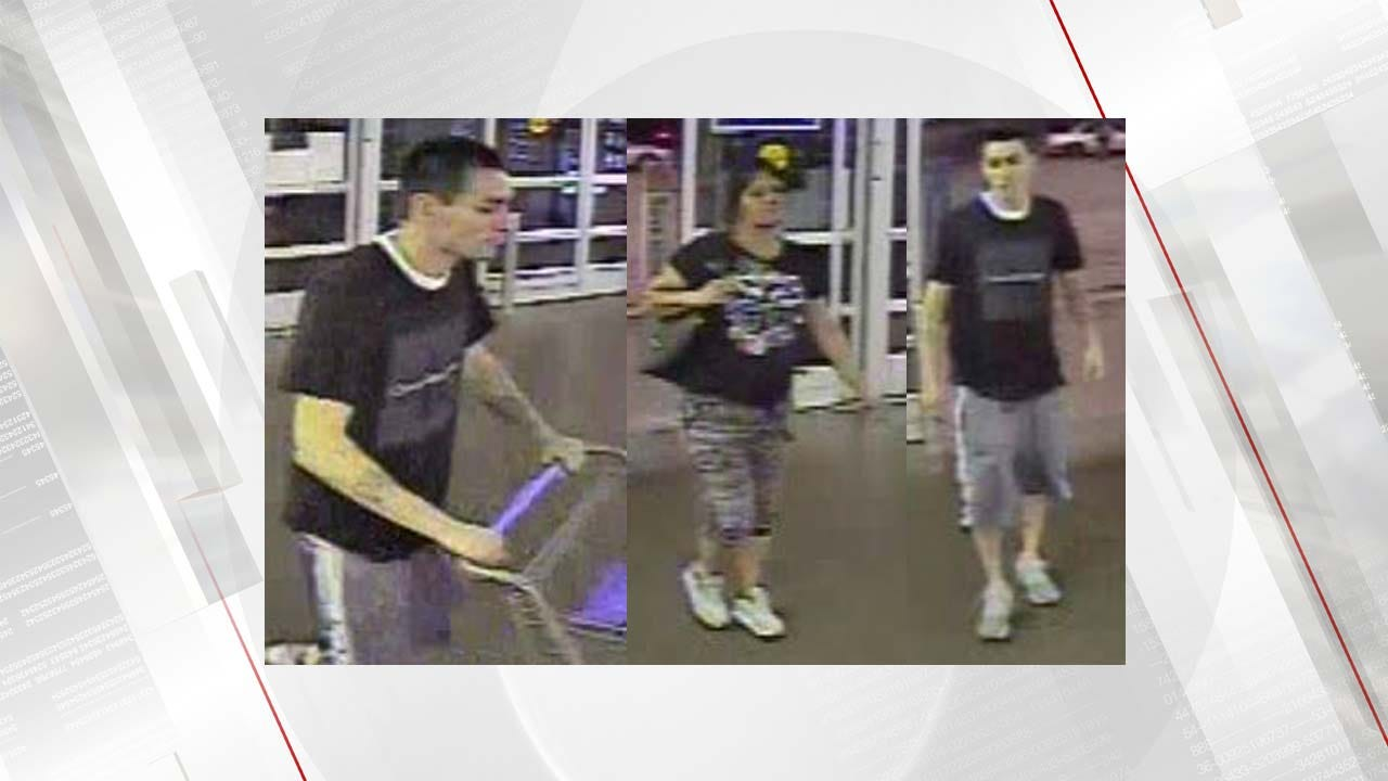 Jenks Police Searching For Stolen Credit Card Persons Of Interest