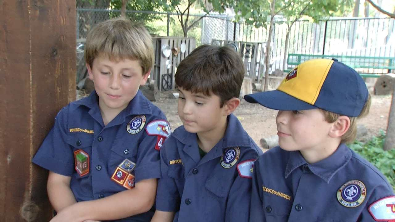 Local Businesses Help Out Tulsa Cub Scouts