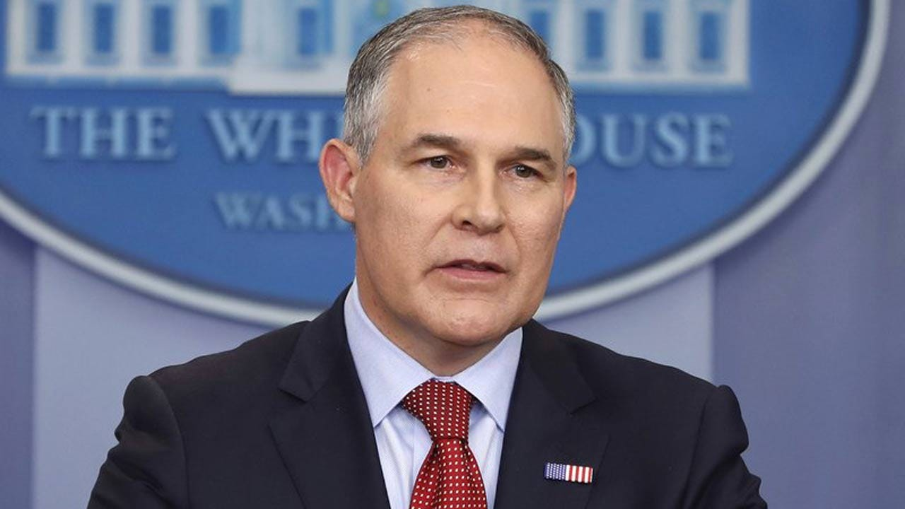 EPA Chief Says Administration To Roll Back Climate Plan
