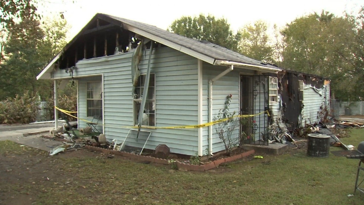 Muskogee Habitat For Humanity Home Destroyed By Fire