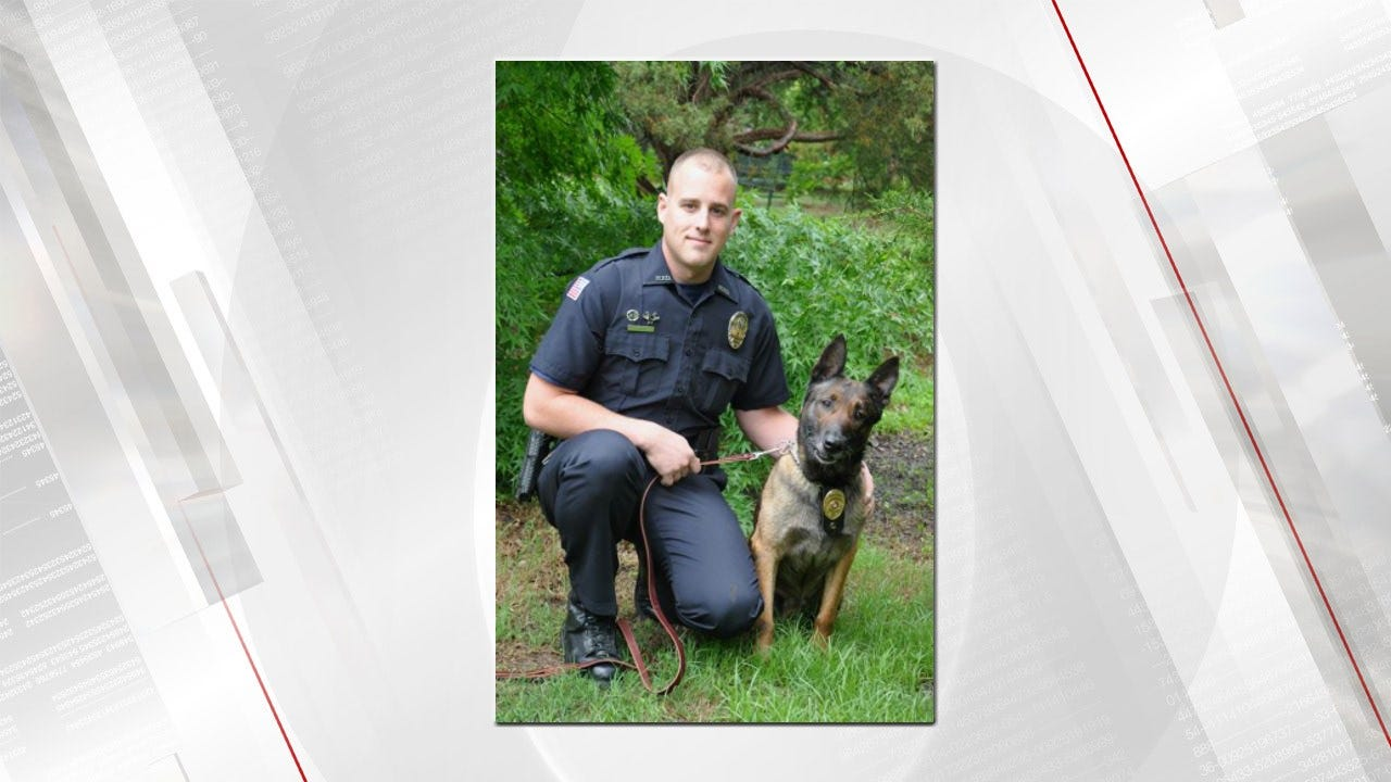 Retired Muskogee K-9 Officer Laid To Rest