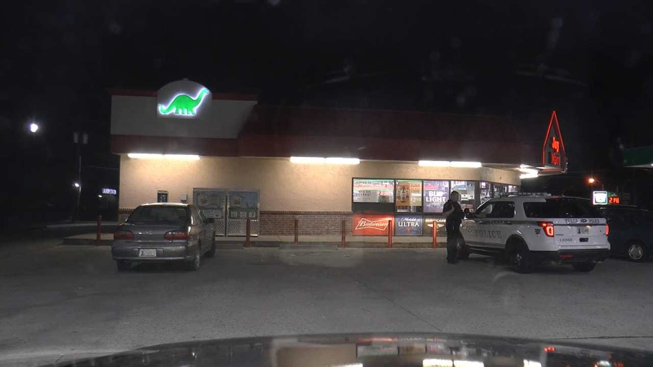 Robbers Take Victim's Wallet At Tulsa Convenience Store