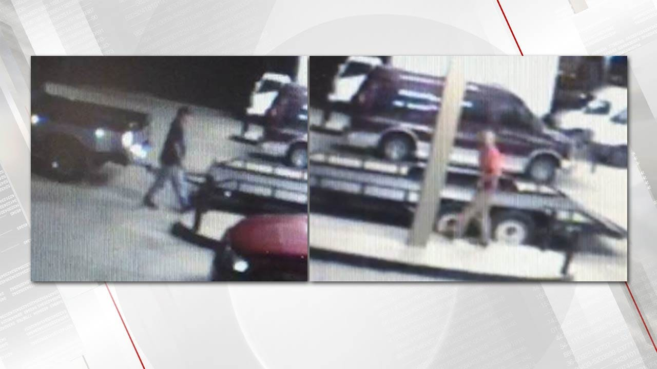 Tulsa Police Seek Persons Of Interest In Auto Theft