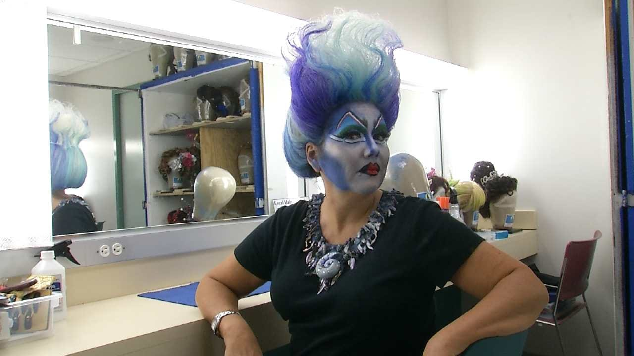 LeAnne Taylor's Transformation Into 'Ursula The Sea Witch'