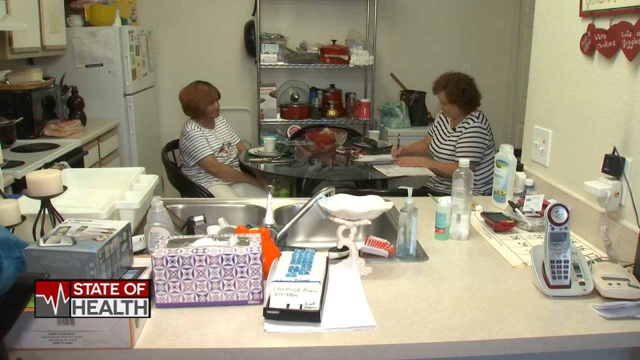 Oklahomans Feel Home Health Care Budget Shortfall