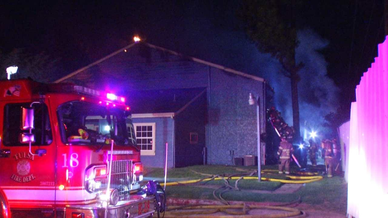 Tulsa Apartment Residents Come Together After Fatal Fire