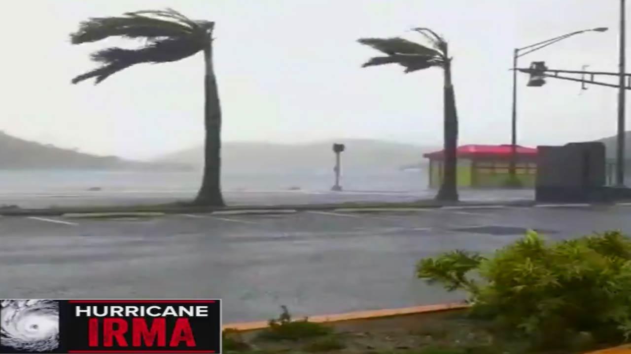Hurricane Irma's Eyewall Reaches Florida Keys